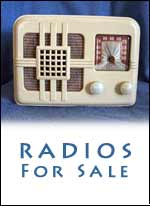 Radios For Sale - Visit our Radio Gallery
